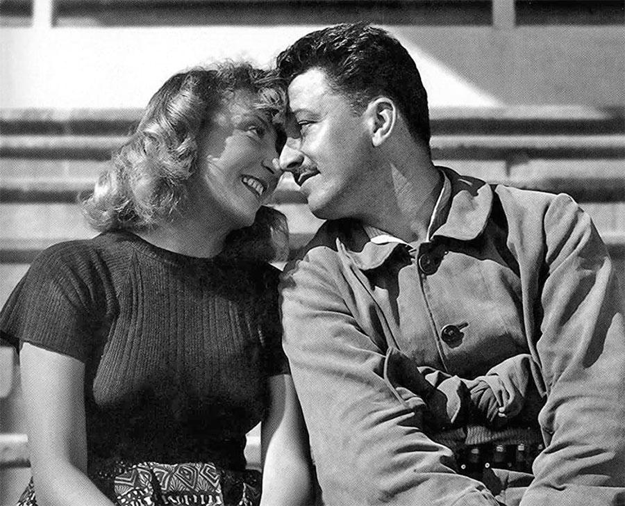 Colette Brosset et Robert Dhéry dans Bertrand cœur de lion (1951) - DR