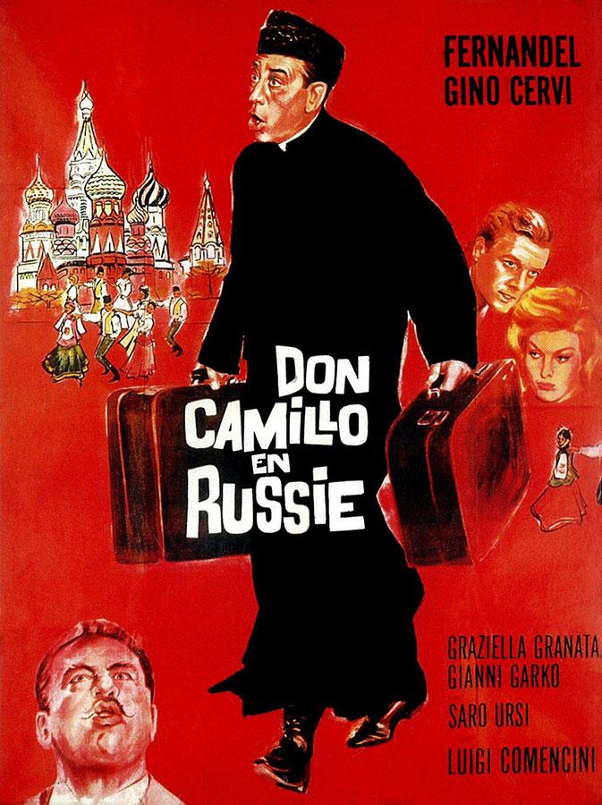Don Camillo en Russie (Luigi Comencini, 1965)