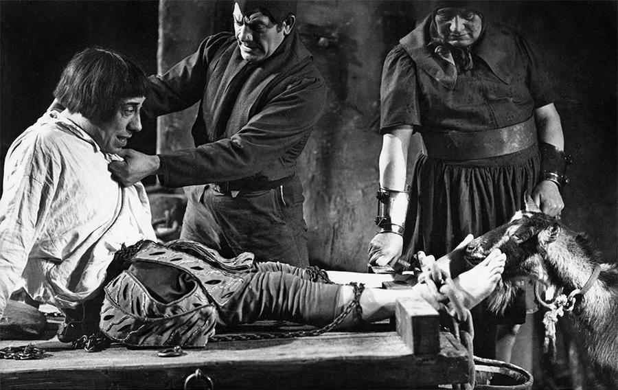 Fernandel et Biquette dans Francois 1er (Christian-Jaque, 1937) - DR