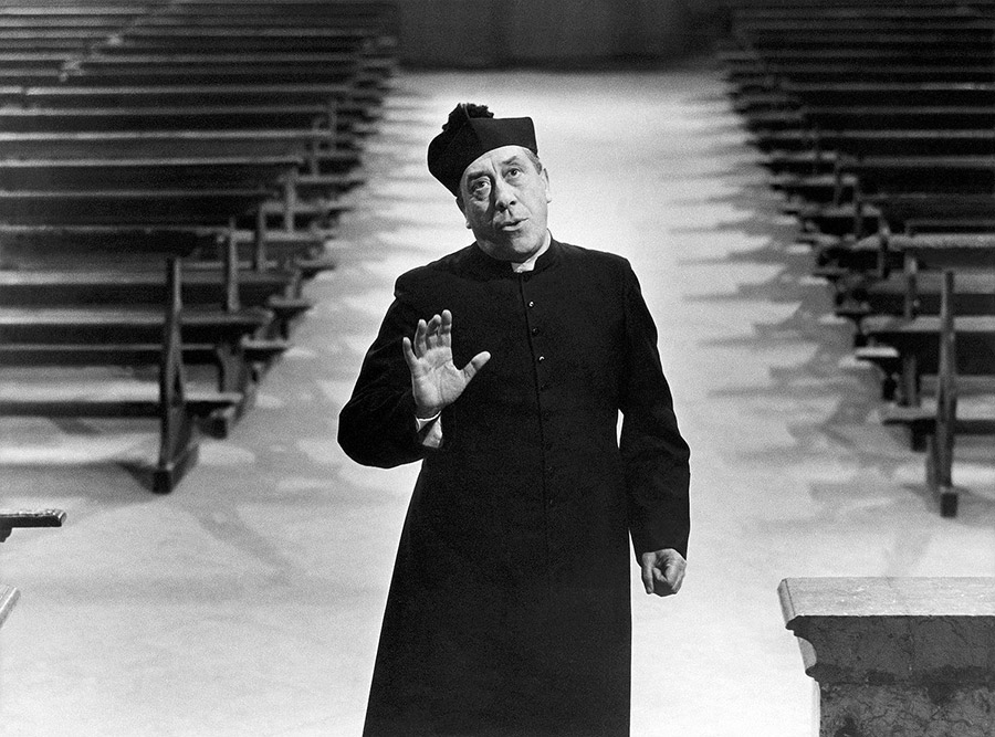 Fernandel dans Le Petit monde de Don Camillo (Julien Duvivier, 1952) - DR