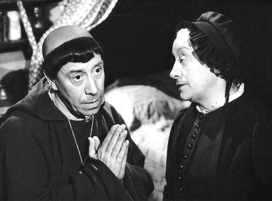Fernandel et Françoise Rosay dans L'Auberge rouge (Claude Autant-Lara, 1951) - DR