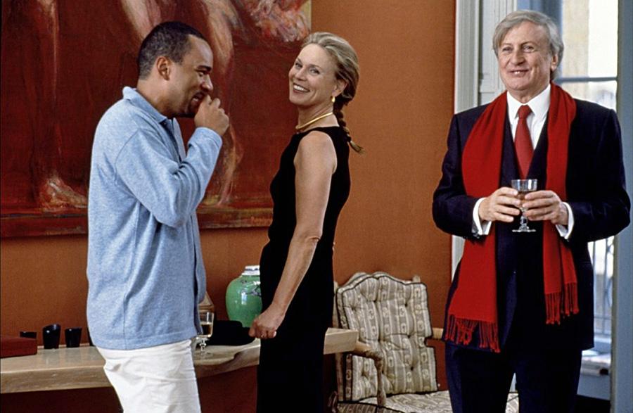 Dieudonné, Marthe Keller et Claude Rich dans Le Derrière (Valérie Lemercier, 1998)
