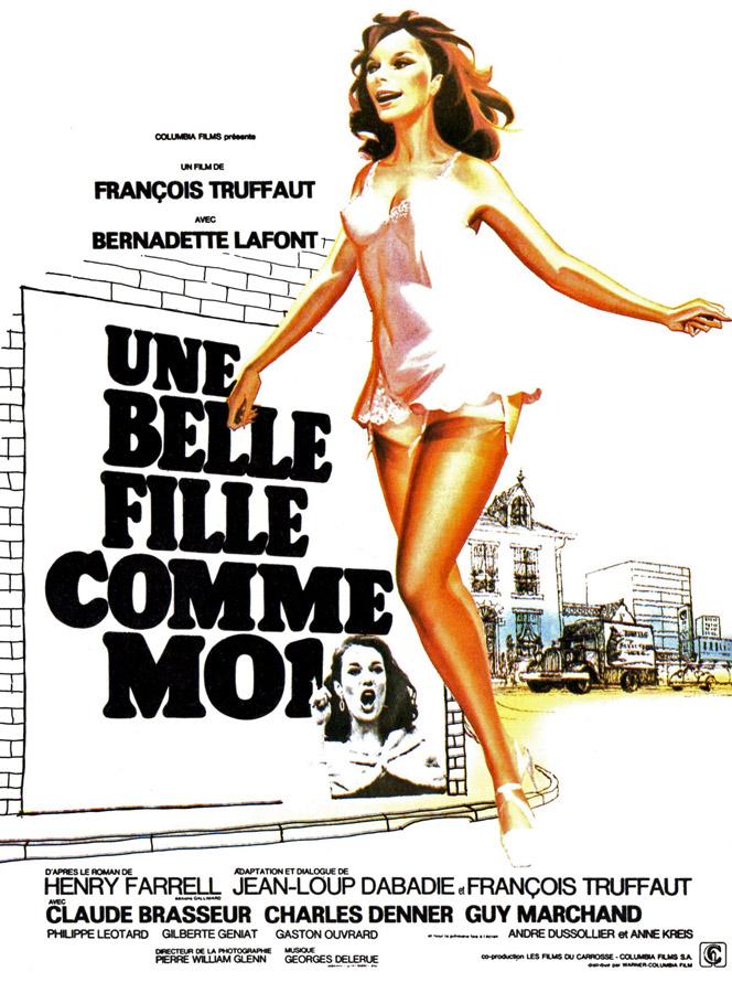 Une belle fille comme moi (François Truffaut, 1972)