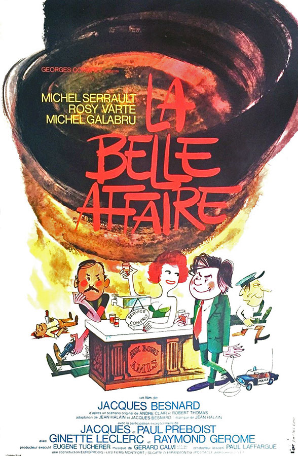 La Belle affaire (Jacques Besnard, 1973)
