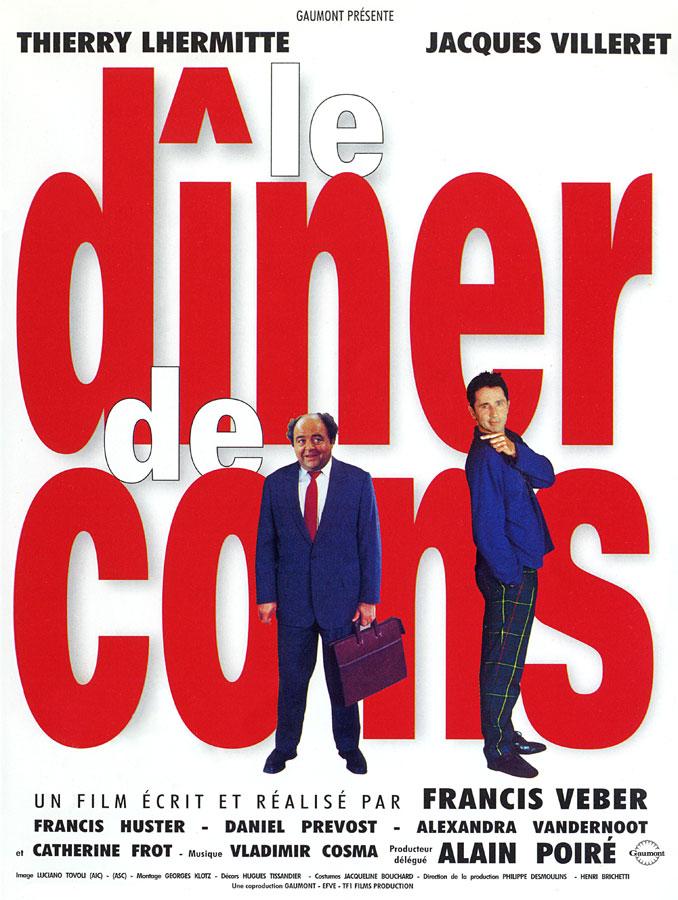 Le Dîner de cons (Francis Veber, 1998)