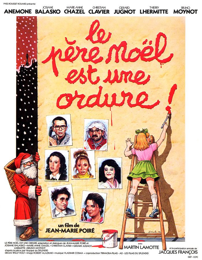 Le Père Noël est une ordure (Jean-Marie Poiré, 1982)