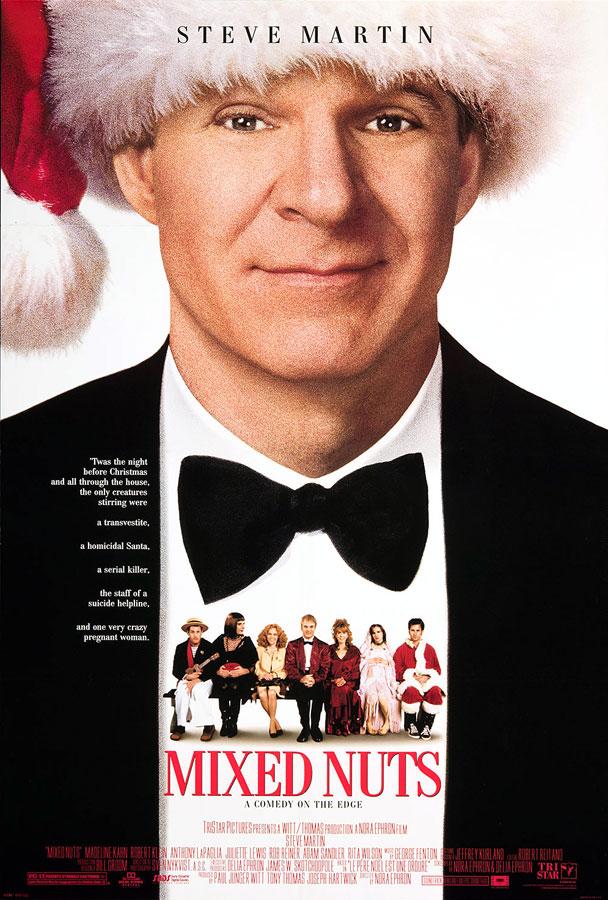 Mixed Nuts (Nora Ephron, 1994) - Remake américain du Père Noël est une ordure