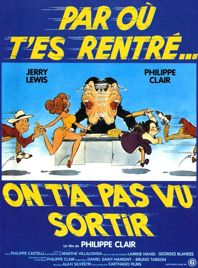 Par où t'es rentré… on t'a pas vu sortir (Philippe Clair, 1984)