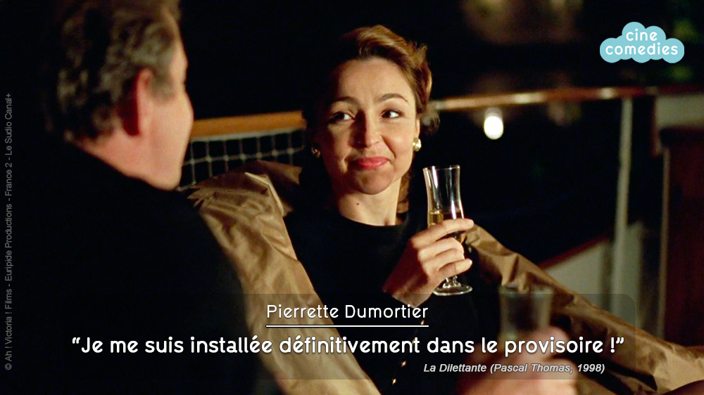 La Dilettante (Pascal Thomas, 1999) - Réplique culte