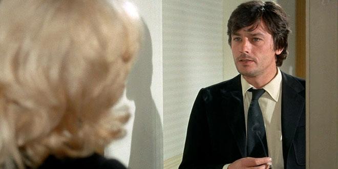 Alain Delon dans Il était une fois un flic (Georges Lautner, 1971)