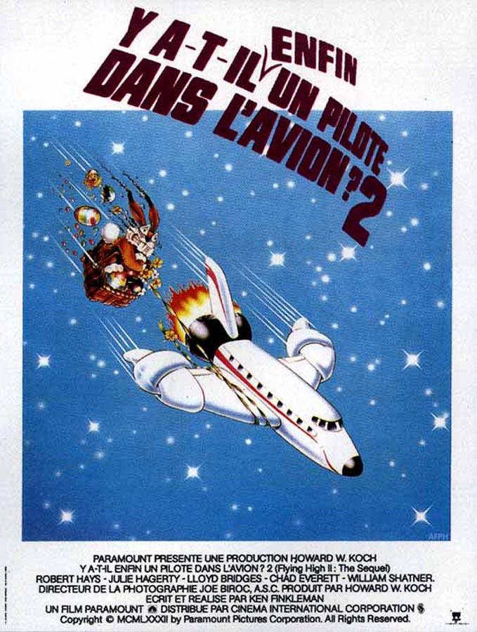 Y a-t-il enfin un pilote dans l'avion ? (Ken Finkelman, 1982)