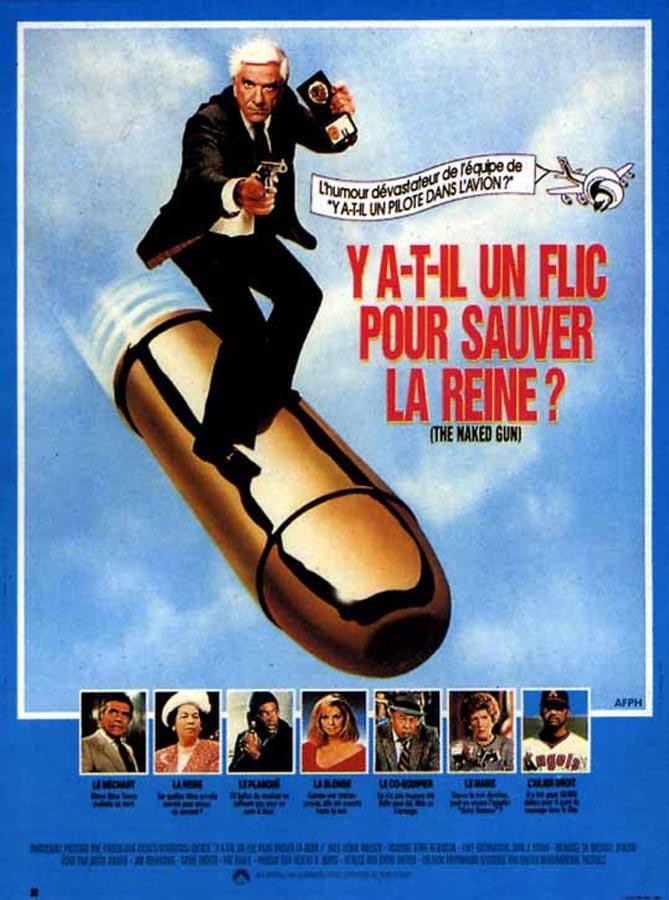 Y a-t-il un flic pour sauver la reine ? (The Naked Gun: From the Files of Police Squad!) de David Zucker (1988)