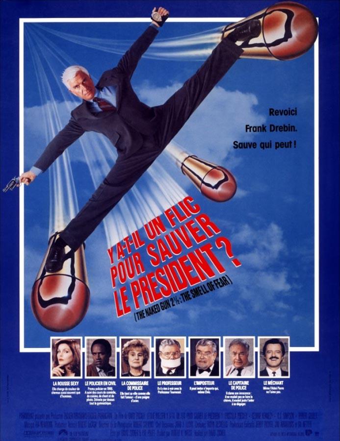 Y a-t-il un flic pour sauver le président ? (The Naked Gun 2½: The Smell of Fear) de David Zucker (1991)