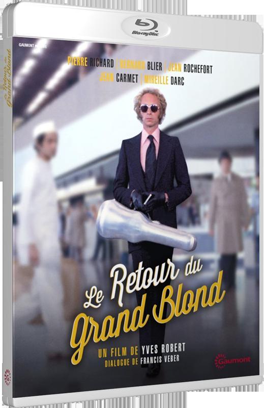 Le Retour du Grand Blond (Yves Robert, 1974) - Blu-ray