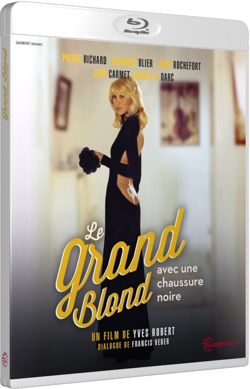 Le Grand Blond avec une chaussure noire (Yves Robert, 1972) - Blu-ray