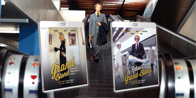 Le Grand Blond avec une chaussure noire / Le Retour du Grand Blond (Yves Robert, 1972/1974) - Blu-ray