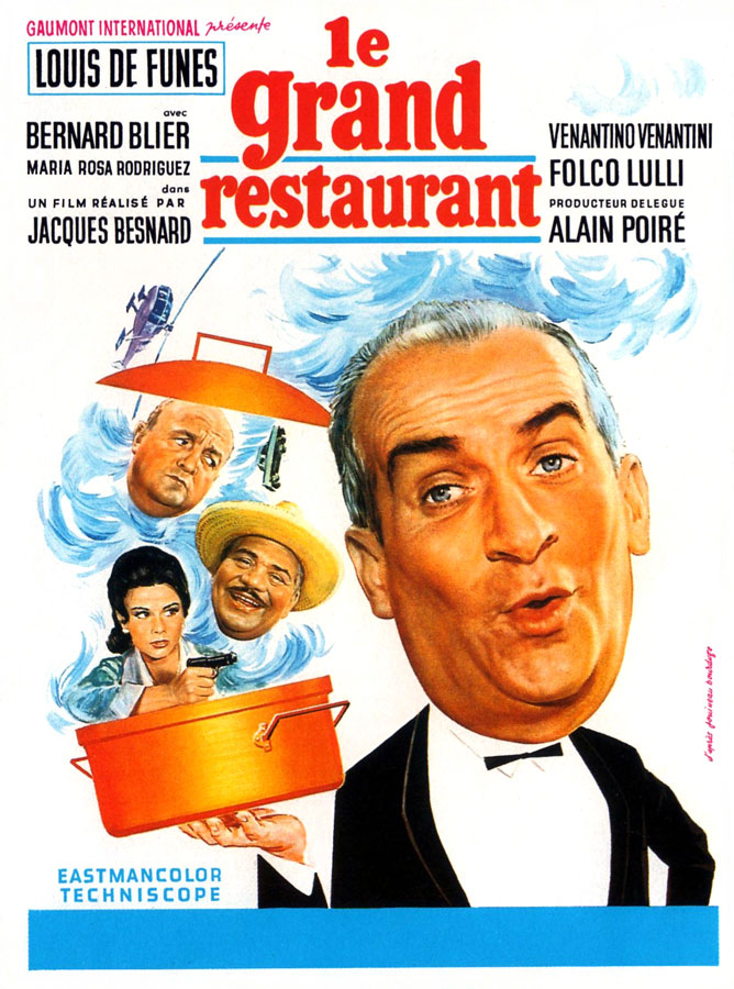 Le Grand restaurant (Jacques Besnard, 1966)