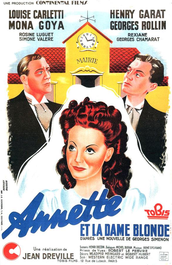 Annette et la dame blonde (Jean Dréville, 1941)