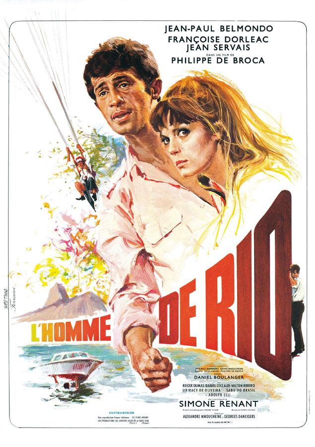 L'Homme de Rio (Philippe de Broca, 1964)