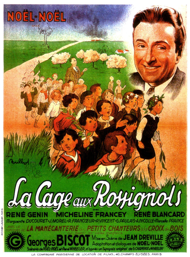 La Cage aux rossignols (Jean Dréville, 1945)