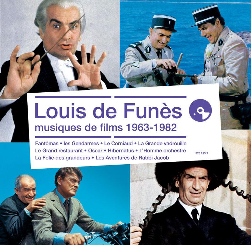 Louis de Funès en musique - Louis de Funès, musiques de films 1963-1982