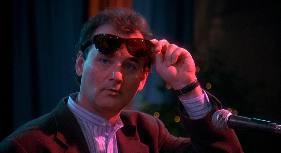 Bill Murray dans Un jour sans fin (Harold Ramis, 1993)