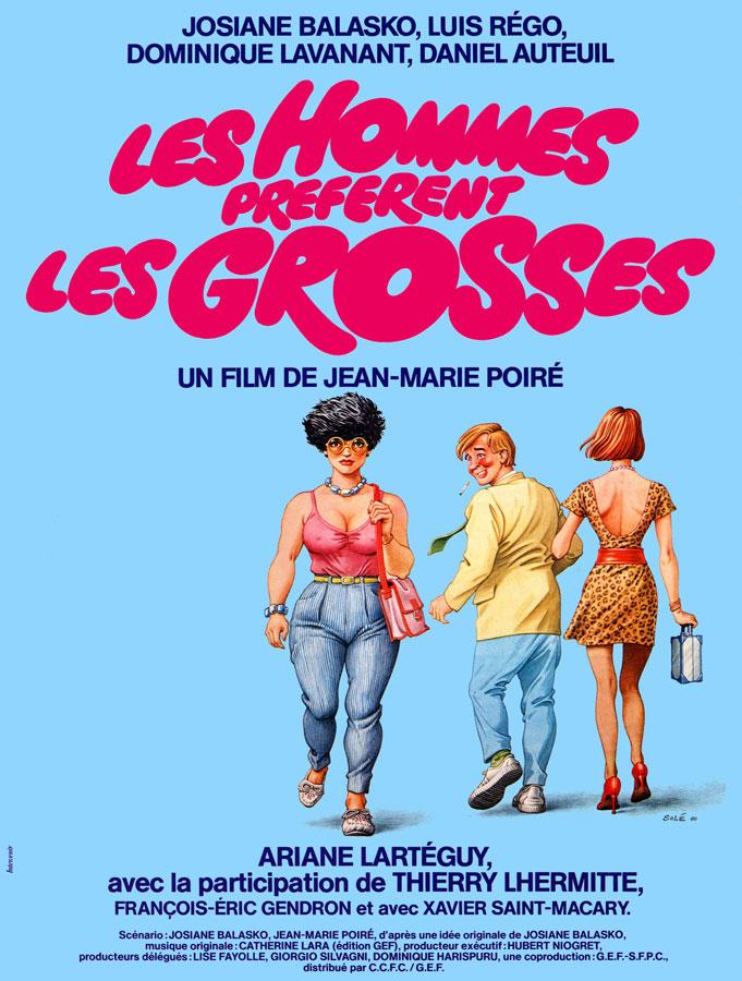 Les Hommes préfèrent les grosses (Jean-Marie Poiré, 1981)