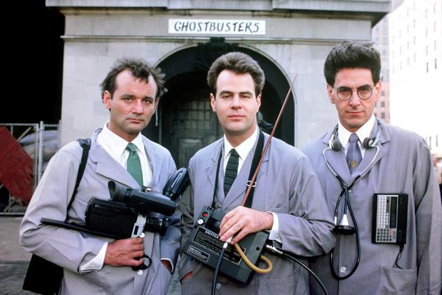 Bill Murray, Dan Ackroyd et Harold Ramis dans Ghostbusters (Harold Ramis, 1984)