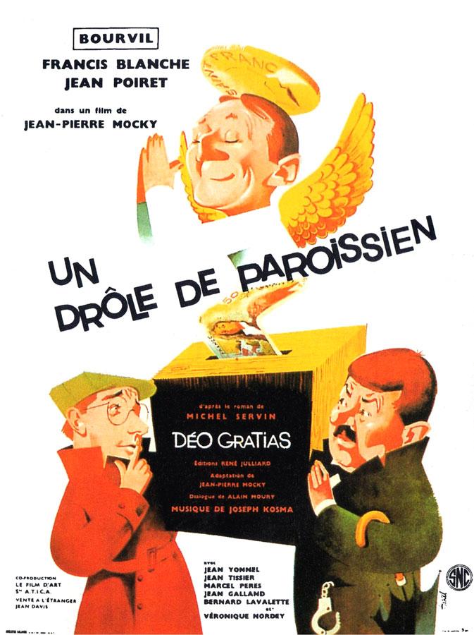 Un drôle de paroissien (Jean-Pierre Mocky, 1963)