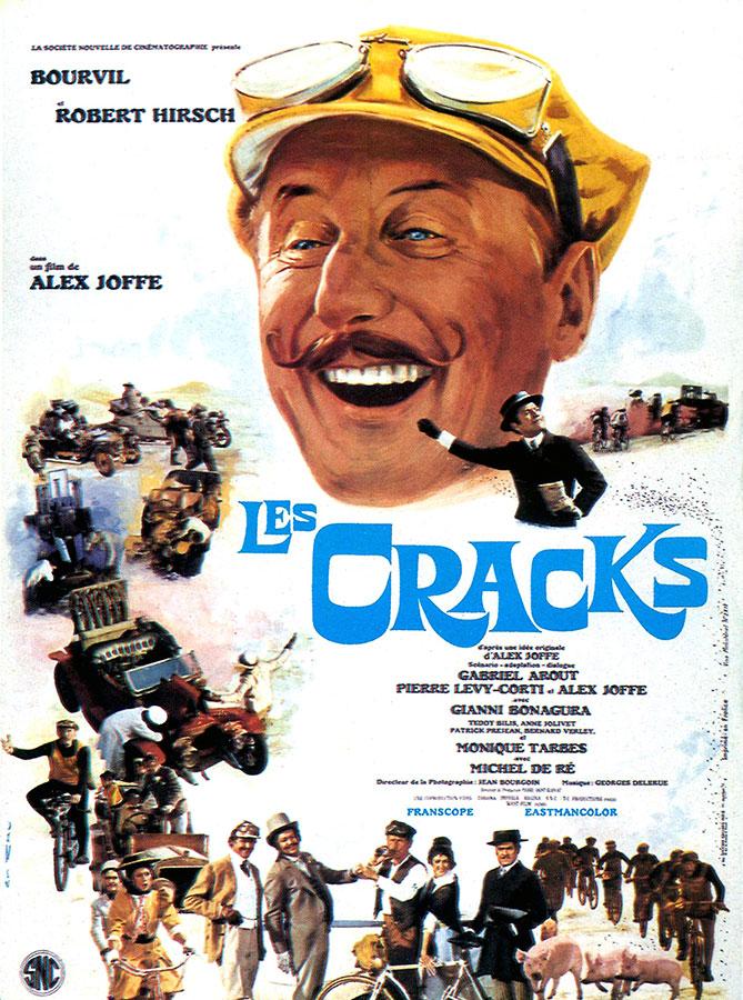 Les Cracks (Alex Joffé, 1968)