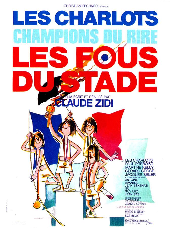 Les Fous du stade (Claude Zidi, 1972)