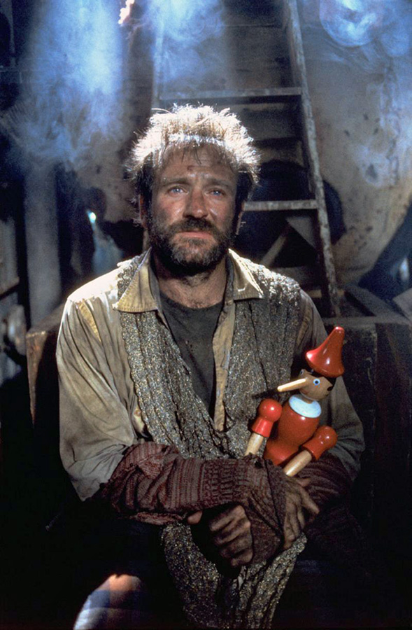 Robin Williams dans Fisher King (Terry Gilliam, 1991)