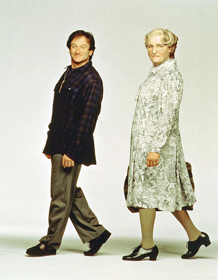 Robin Williams dans Madame Doubtfire (Chris Columbus, 1993)