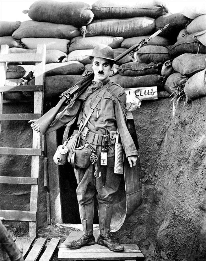 Charlot soldat (Shoulder Arms, 1918) de Charlie Chaplin