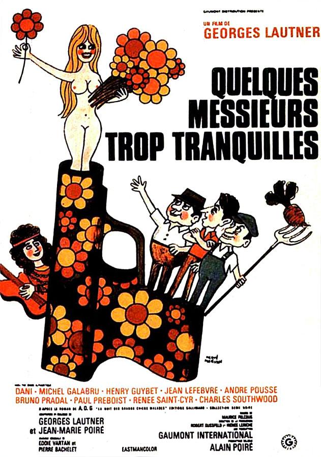 Quelques messieurs trop tranquilles (Georges Lautner, 1973)