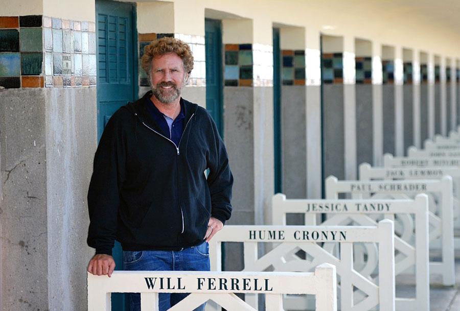 L'art de la comédie par Will Ferrell sur les planches à Deauville (10 septembre 2014)