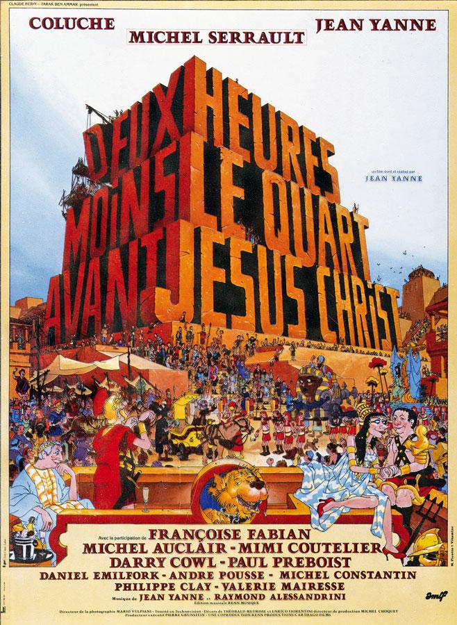 Doc.8 - Deux heures moins le quart avant Jésus-Christ (Jean Yanne, 1981) © Picotto-Vitamine