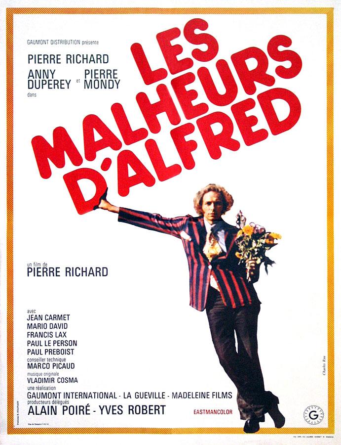 Les Malheurs d'Alfred (Pierre Richard, 1972)
