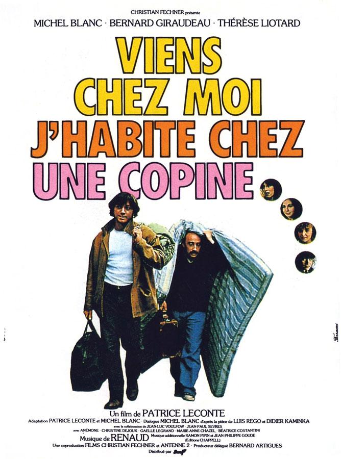 Viens chez moi, j'habite chez une copine (Patrice Leconte, 1981)