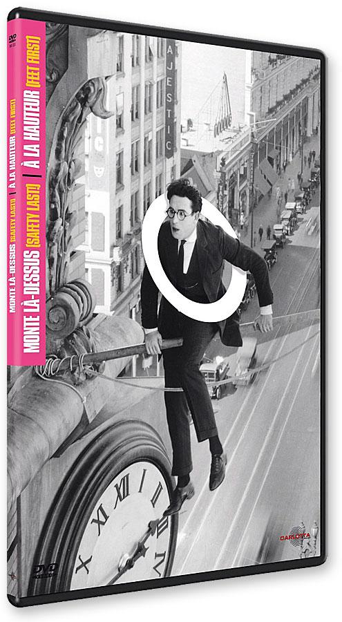 Monte là-dessus ! (Safety Last!, 1923) + À la hauteur ! (Feet First, 1930) - DVD