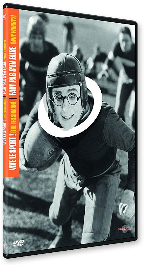 Vive le sport ! (The Freshman, 1925) + Faut pas s'en faire (Why Worry?, 1923) - DVD