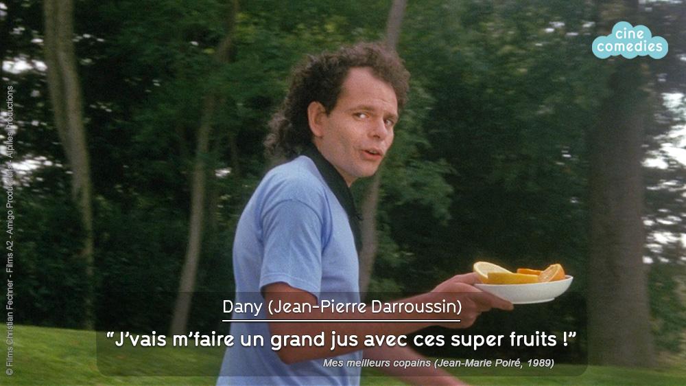 Jean-Pierre Darroussin (Dany) dans Mes meilleurs copains (Jean-Marie Poiré, 1989)