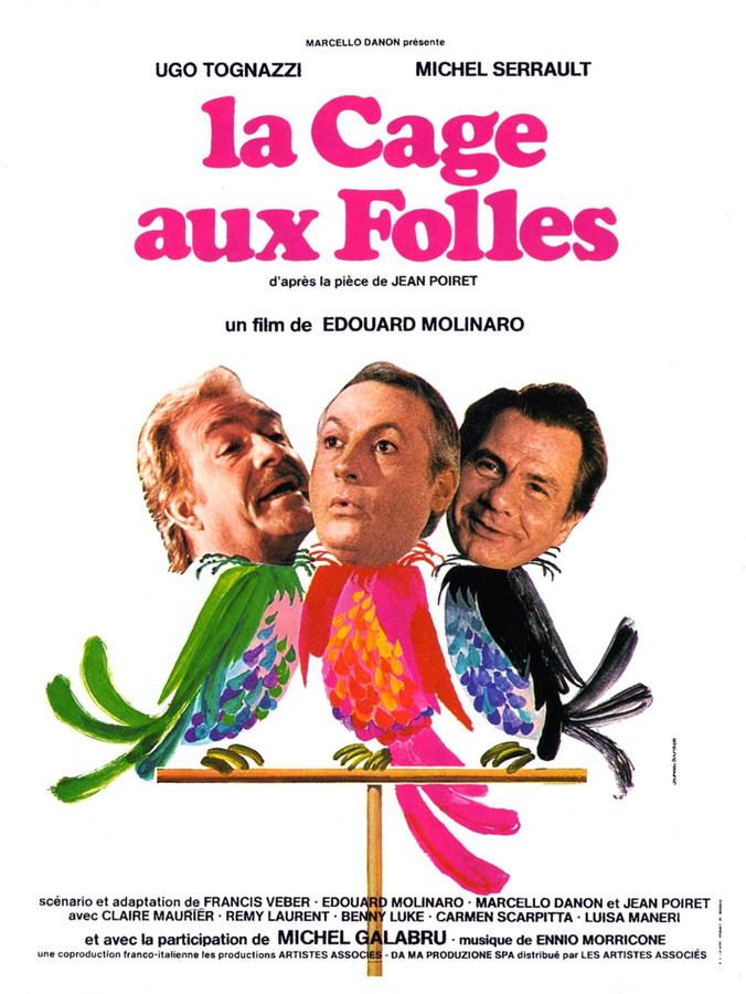 La Cage aux folles (Édouard Molinaro, 1978)