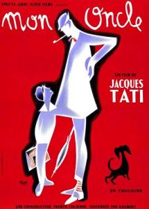 Mon oncle (Jacques Tati, 1958) - Affiche dessinée par Pierre Étaix