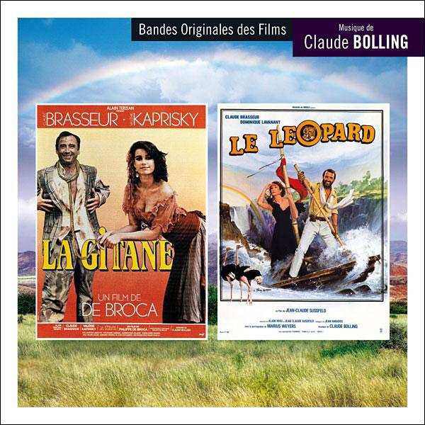 La Gitane / Le Léopard - musique de Claude Bolling (Music Box Records)