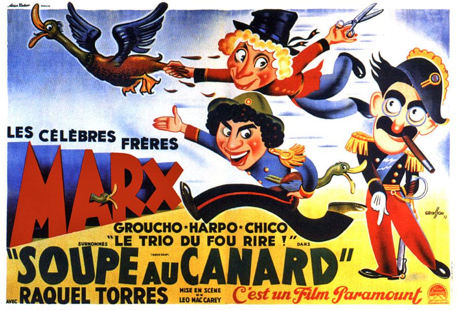 Soupe au canard (Leo McCarey, 1933)