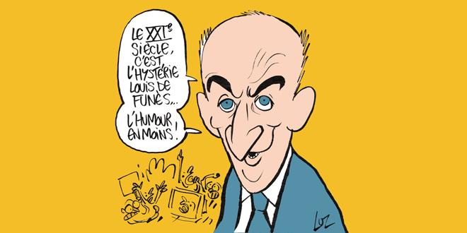 TOP 10 Louis de Funès par Charlie Hebdo