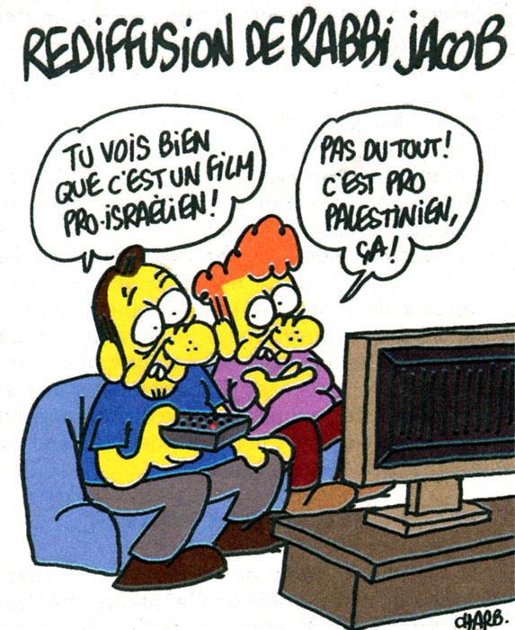 Charlie Hebdo N° spécial Louis de Funès - dessin de Charb ©