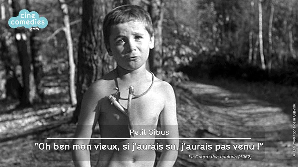 La Guerre des boutons (Yves Robert, 1962) - réplique 1