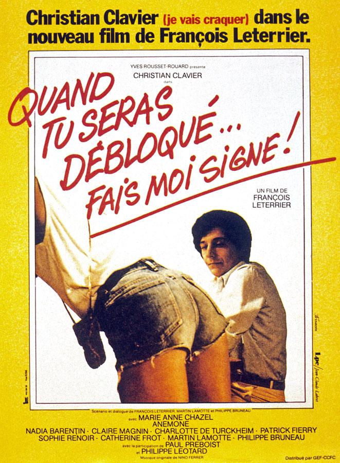 Quand tu seras débloqué… fais-moi signe ! (Les Babas cool) de François Leterrier (1981)